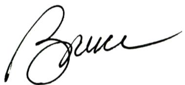 Bruce White Signature