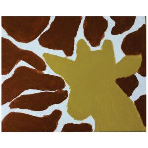 Giraffe Pre-drawn Canvas