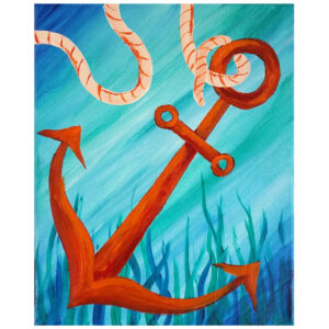 Anchor Pre-drawn Canvas