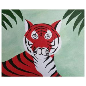 Tiger Pre-drawn Canvas