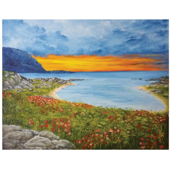"Sunset Cove 16"" x 20"""