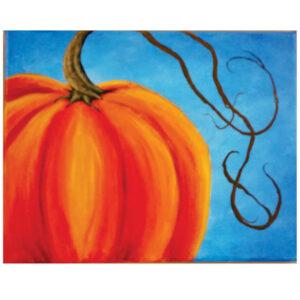 """Small Pumpkin 8"""" x 10"""""""