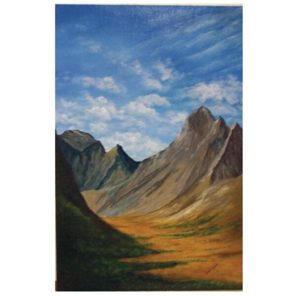 """Mountain Range 20"""" x 30"""""""