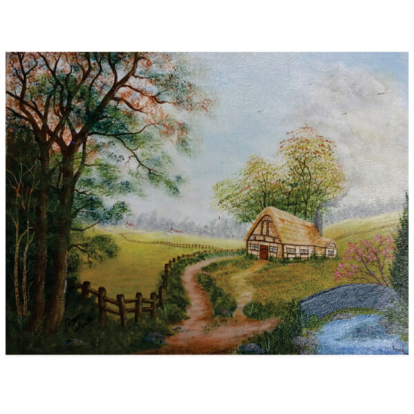 """Cottage Getaway 16"""" x 20"""""""